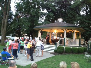 Concert in Warder Park - People Dancing at Blair Carman Concert