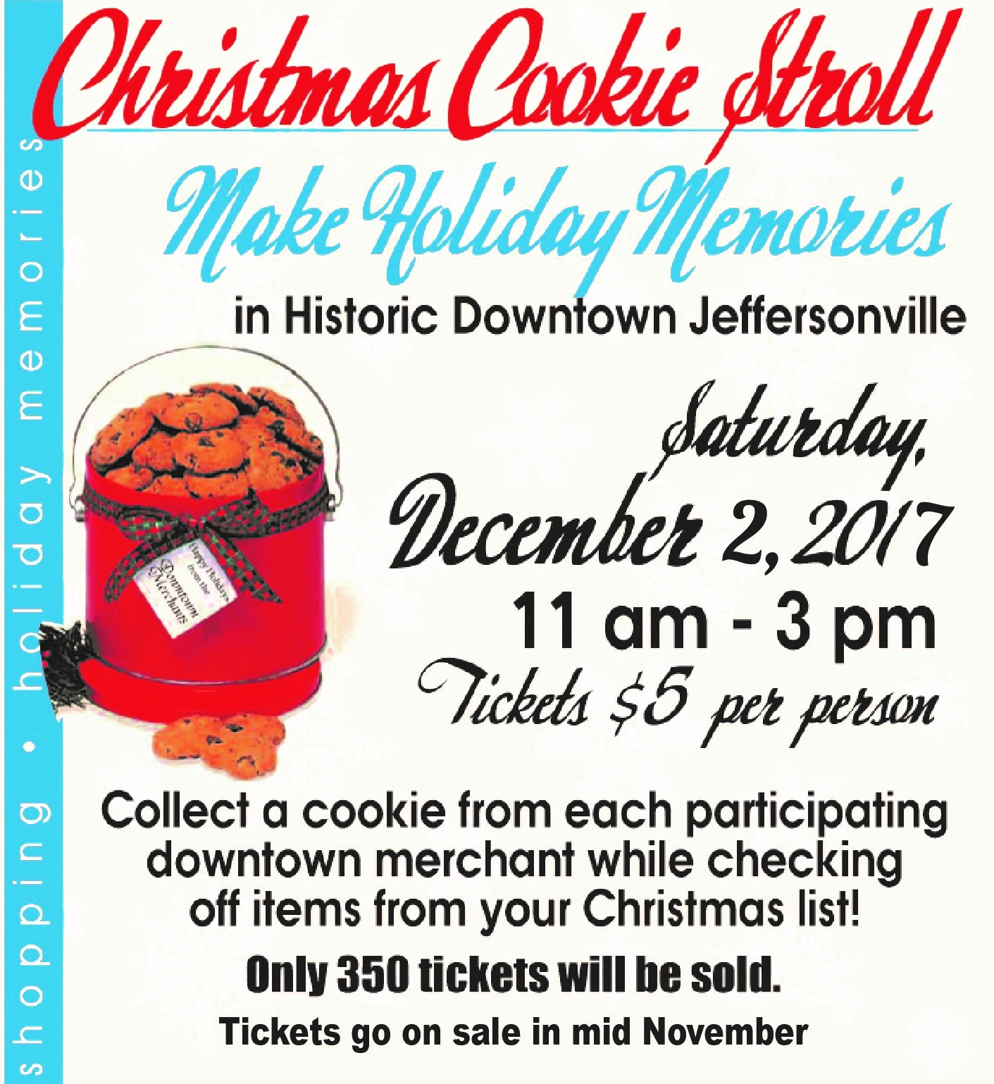 Click here for Christmas Cookie Stroll Tickets!