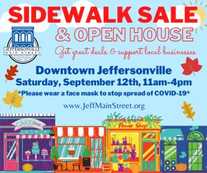 Fall Sidewalk Sale