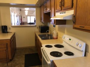 the kitchen at Preservation Station